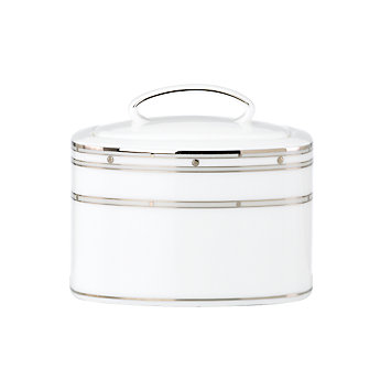 LENOX Table Accessories  - kate spade new york Pebble Point Sugar Bowl