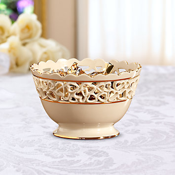 Heart Ivory Bowl by Lenox