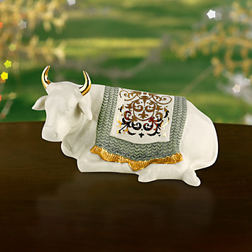 LENOX Nativities  - First Blessing Nativity Ox Sculpture Figurine