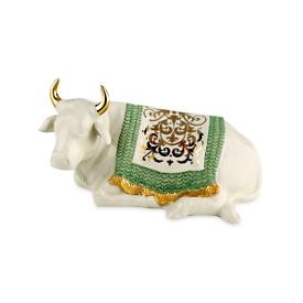 First Blessing Nativity Ox Sculpture Figurine