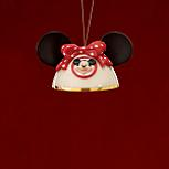 Minnie Mouse Ears Ornament