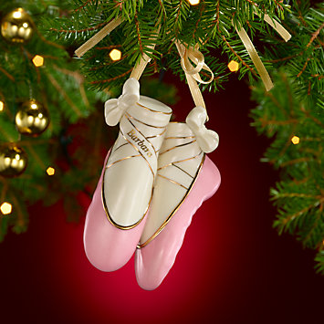 My Ballet Slippers Ornament by Lenox
