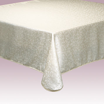 Opal Innocence Ivory Tablecloth by Lenox