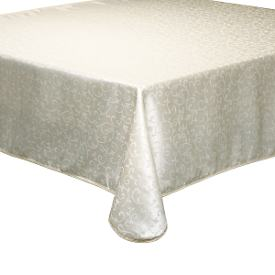 Opal Innocence Ivory Tablecloth