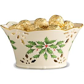 Holiday® Pierced Basket