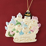 Warm Wishes To All Family of 6 Ornament by Lenox