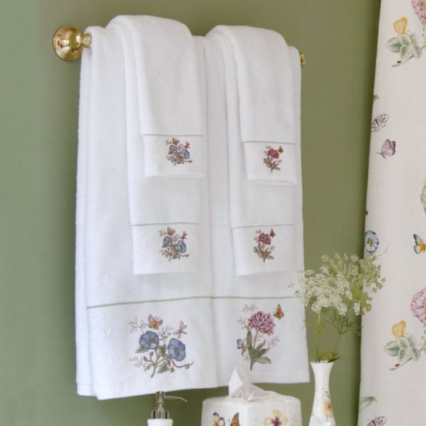 Butterfly Meadow® Hand Towel by Lenox