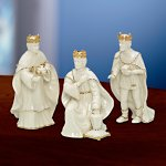 Innocence Nativity Three Kings Figurine