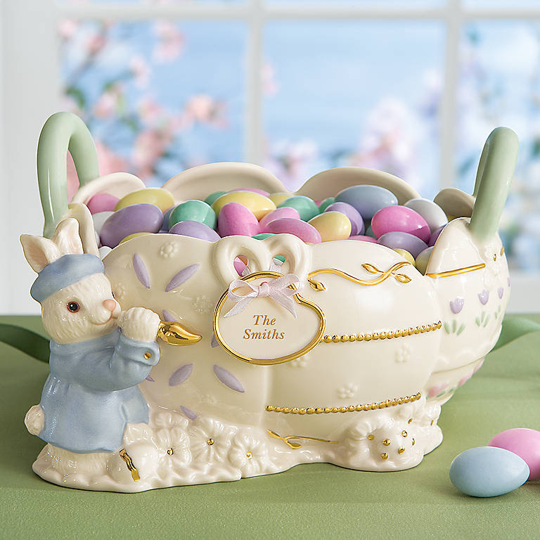 Personalized Easter Cheer Basket by Lenox