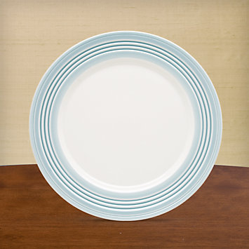 LENOX Overstock: Plates - Tin Can Alley® Four° Blue Accent Plate