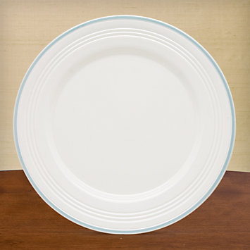 LENOX Overstock: Plates - Tin Can Alley® Four° Blue Dinner Plate