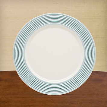LENOX Overstock: Plates - Tin Can Alley® Seven° Blue Accent Plate