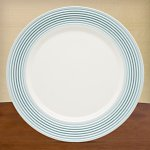 Tin Can Alley Seven° Blue Dinner Plate