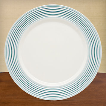 LENOX Overstock  - Tin Can Alley® Seven° Blue Dinner Plate