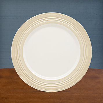 LENOX Overstock: Plates - Tin Can Alley® Four° Khaki Accent Plate