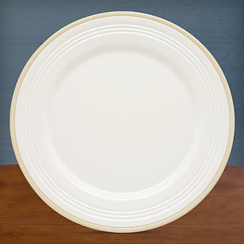 LENOX Overstock: Plates - Tin Can Alley® Four° Khaki Dinner Plate
