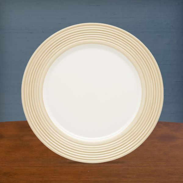 Tin Can Alley® Seven° Khaki Accent Plate by Lenox