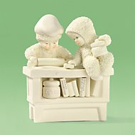 Snowbabies Grandma's Favorite Recipes Figurine by Lenox