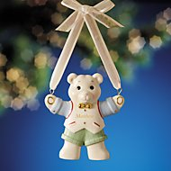 Teddy Bear Boy Ornament by Lenox