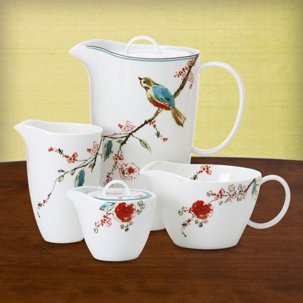 Simply Fine Lenox® Chirp Pour It On! 6-piece Pitcher Set