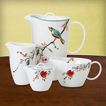 LENOX Serving Pieces  - Simply Fine Chirp 6-pc Pitcher Set