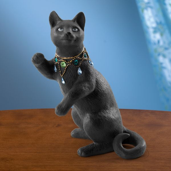 Night Gazer Cat Figurine by Lenox