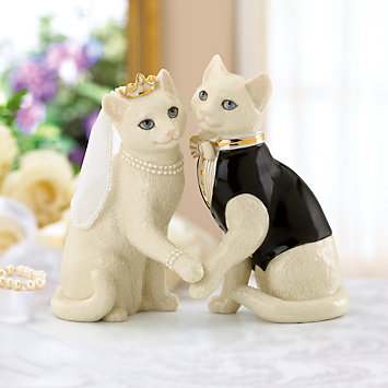 LENOX Figurines: Cats - Together Forever Cat Figurine