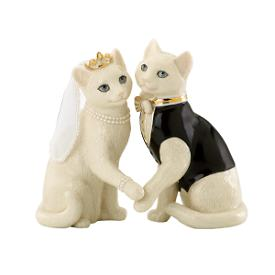 Together Forever Cat Figurine
