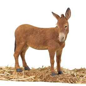 Thomas Blackshear's Nativity Donkey Figurine