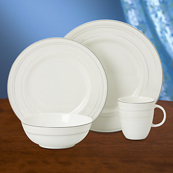 LENOX Overstock: Sets - Glimmer 4-piece Place Setting