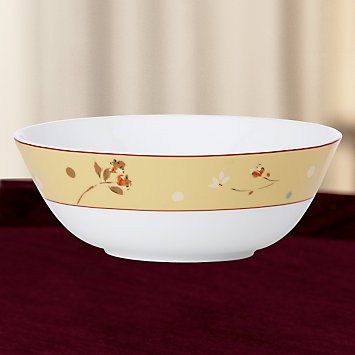 Simply Fine Lenox® Canary Serving Bowl