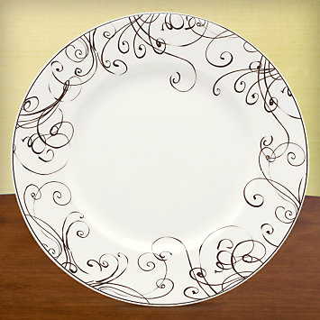 LENOX Made in America  - Simply Fine Lenox® Chocolate Dinner Plate