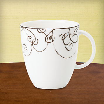 LENOX Made in America  - Simply Fine Lenox® Chocolate Coffee/Tea Cup