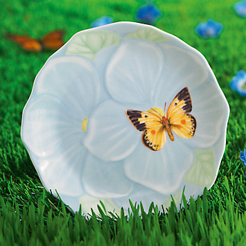 Butterfly Meadow Flower Canapé Plate