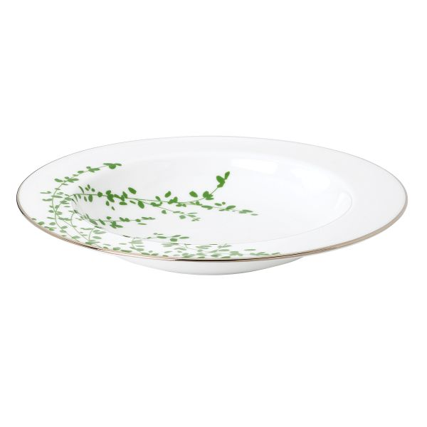 kate spade new york Gardner Street Green Soup Bowl by Lenox