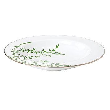 kate spade new york Gardner Street Green Soup Bowl
