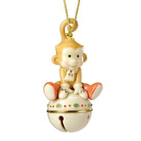 Monkeying Around Jingle Bell Ornament