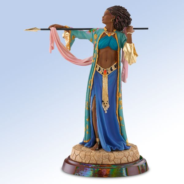 Thomas Blackshear's The Amazon Woman Figurine by Lenox
