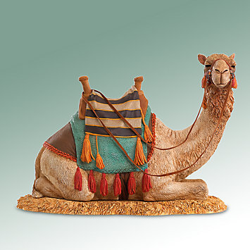 Thomas Blackshear's Nativity Camel Figurine