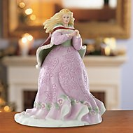 15th Anniversary Rose The Christmas Princess Figurine by Lenox