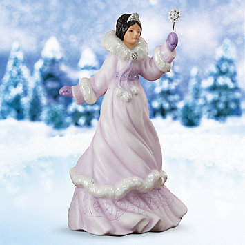 LENOX Figurines: Female Figurines - Shiya The Eskimo Snow Princess Figurine