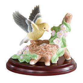 Female Goldfinch Figurine