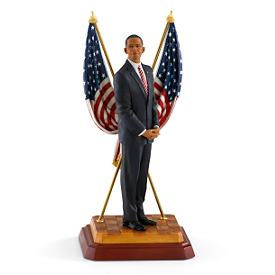 Thomas Blackshear's President Obama Figurine