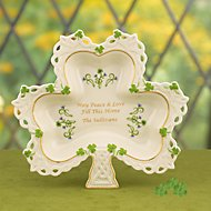 Shamrock Sentiments Dish by Lenox