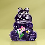 Fenton Hippo Art Glass Figurine by Lenox