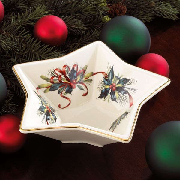 Winter Greetings® Star Bowl by Lenox