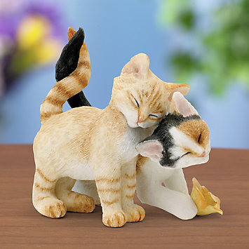 Country Artists Cat Figurine