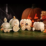 Halloween Harvest Train 3-piece Set  Figurine by Lenox