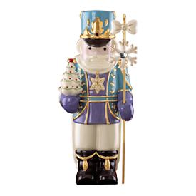 Nutcracker with Tree Figurine
