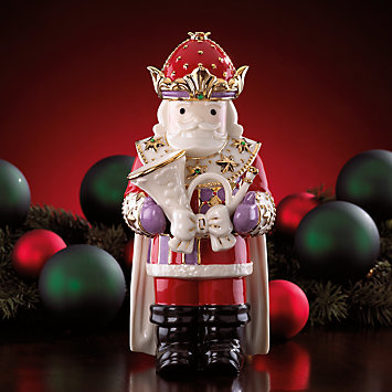 Nutcracker with Horn Figurine by Lenox